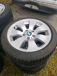 BMW rims and snow tires 17inch Toronto, M1S 3Z1