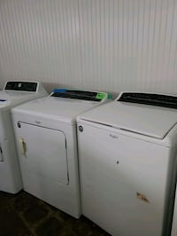Top load washer and dryer set working perfectly  Baltimore, 21223