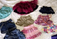 Girls skirts $4 Toronto, M9W 4R5