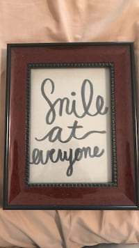 Smile at Everyone artwork decor Porterville, 93257