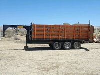 Gooseneck Heavy Duty Dump Trailer/ or trade Rosamond