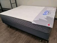 New Queen mattress coil. DELIVERY available. Bed not included  Edmonton, T5T 6H4