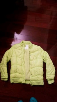 Neon yellow snow jacket West Springfield, 22152