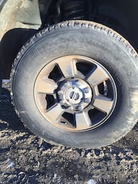 """Set of 4 tires on 18"""" rims"""