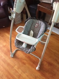 baby's gray and white swing chair Hartsdale, 10530