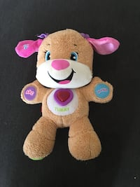 brown and pink bear plush toy Edmonton, T5Y 0M1