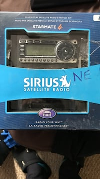 starmate 4 sirius satellite radio in box Kitchener, N2E 3P8
