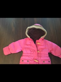 Girls Pink Gap Snowsuit size 12 months  Milton