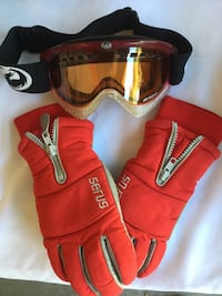 DRAGON SKI GOGGLES AND SERUS SKI GLOVES