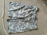 green and grey camouflage shorts Medicine Hat, T1A