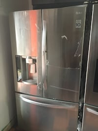 LG 3 Door Steel Refrigerator  Fountain Valley, 92708
