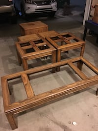 Full Oak furniture set (7 pieces!) Edmonton, T6L