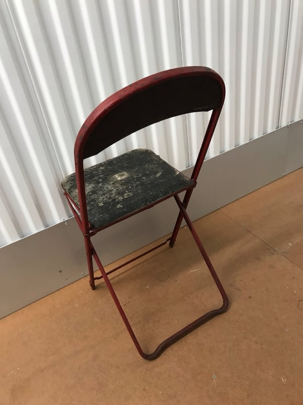 Vintage folding chair 0