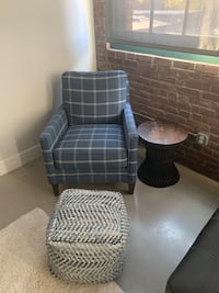 Accent Chair/Pouf/End Table