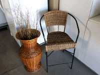 two brown wicker padded chairs London, N6L 0B4