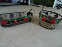 two round and rectangular brown wicker baskets Browns Mills, 08015