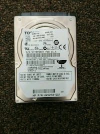 HDD works perfectly.  Kitchener, N2G 2K8