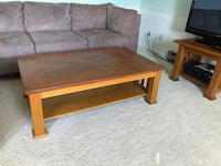 Rectangular brown wooden coffee table Adamstown, 21710