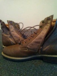 Size 11 mens leather boots  Virginia Beach, 23462