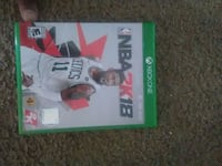 Xbox One NBA 2K18 game  Pontiac