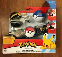 Brand new Pokemon Meowth Clip 'N Go Poke Ball Belt Set(pick up only & price firm  ) Alexandria, 22310