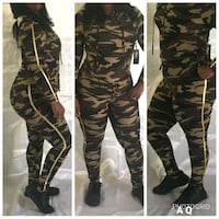 black and gray camouflage pants Bakersfield, 93304