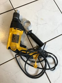 Dewalt corded drill working great