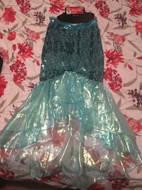 Mermaid Skirt Costume + face decals Gatineau, J9A