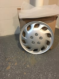 """15"""" silver hubcaps Frederick, 21702"""