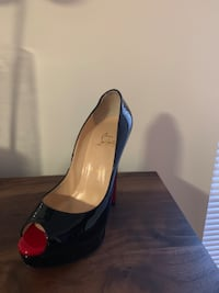 54be361c8271 Used Authentic Christian Louboutin lady peep 150 for sale in Marietta ...