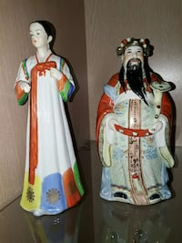 two Chinese ceramic figurines Fjellhamar, 1472