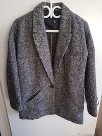 Gap Wool Blend Coat size small oversized  Burnaby