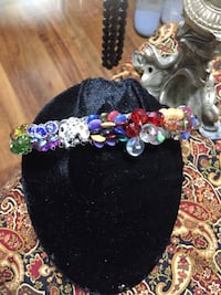 Great load of Jewelry and jewelry making supplies. Beads collected from all over the world. Crystals hand painted and many others. Have items for displaying jewelry and just everything you need to make jewelry, books included. The box is a large moving bo San Antonio, 78210