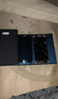 Broken screen Samsung galaxy edge 7 with replacement screen  Vancouver, V5K