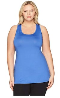 Just My Size Women's Plus Size Active Racerback Jersey Tank Top - Odyssey - 2x 783 mi