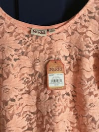 Nwt Mudd lace blouse / L Hagerstown