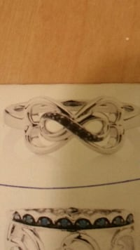 Stolen Engagement Infinity Ring