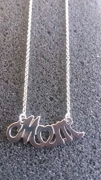 925 Sterling Silver MOM Necklace !! Brand New !! Manassas, 20110