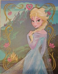 11 × 14 Elsa pic on Canvas