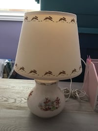 Royal Doulton bunnykins children's lamp. Excellent condition works