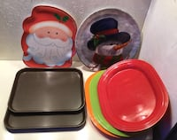 7 plastic serving trays Albuquerque, 87120