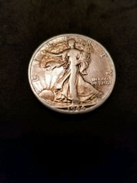 1944 WALKING LIBERTY SILVER HALF DOLLAR Tavares, 32778