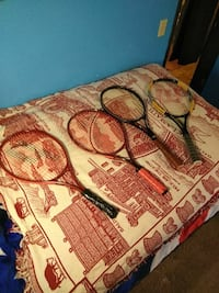 4 tennis rackets Eugene, 97402