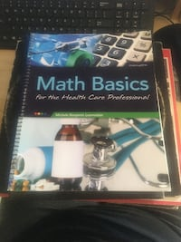 Math Basics For The Health Care Professional Text Book Toronto