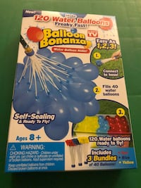Balloon Bonanza water balloons