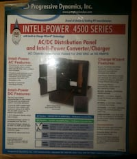 90 Amp All-In-One AC/DC Distribution and Converter Henderson, 89044