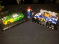 two green and blue racing car die-cast toys North Las Vegas, 89032