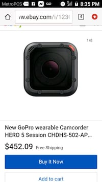 portable waterproof wearable camcorder  Mableton, 30126