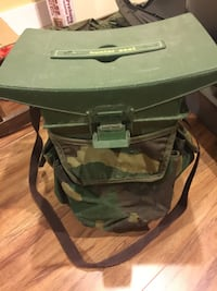 Hunting or fishing seat with storage Bluemont, 20135