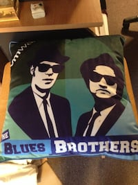 The Blues Brothers Throw Pillow, New, Never Used Baltimore, 21236